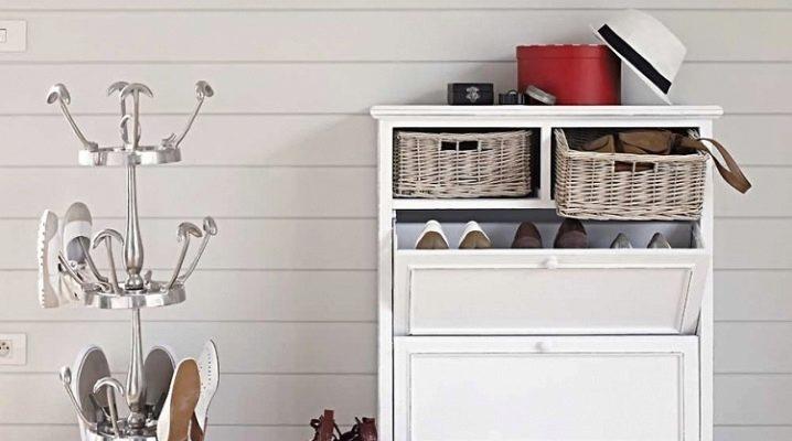Полки для обуви в прихожую: стильно и функционально