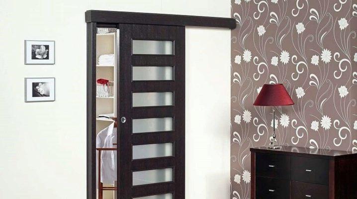 Раздвижная межкомнатная одностворчатая дверь: особенности конструкции