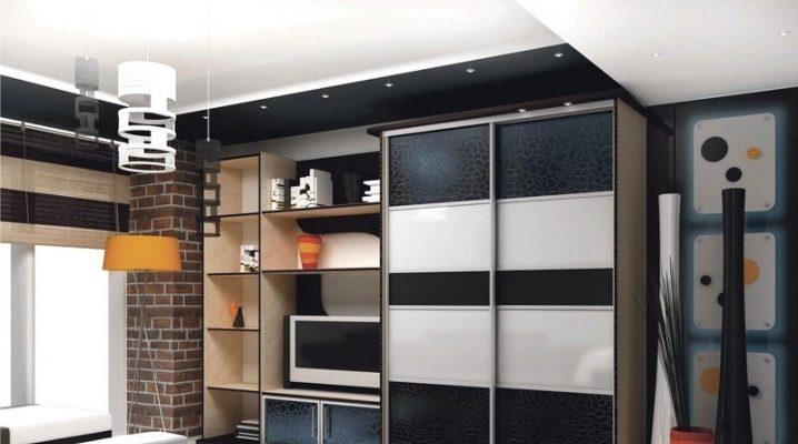 Стенки в комнату с вместительным шкафом (76 фото): мебельные.
