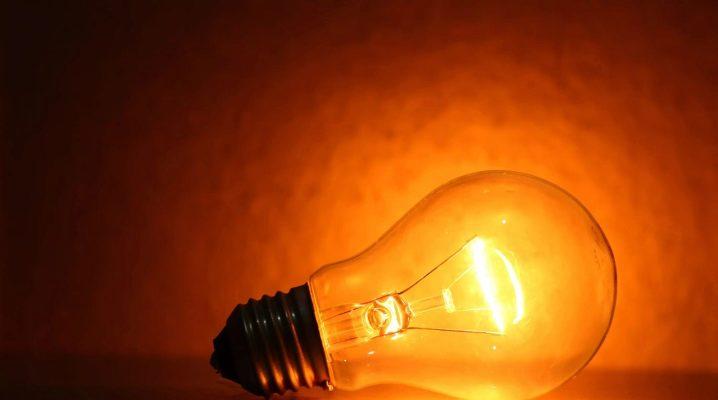 Все разновидности ламп накаливания