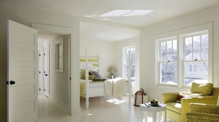 Все тонкости сочетания белого пола со светлыми дверями и стенами