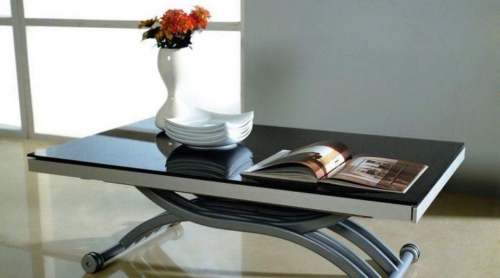 журнальный стол трансформер 59 фото выбираем столик для гостиной