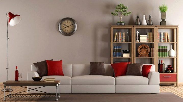 Большие настенные часы для гостиной: оригинальные идеи