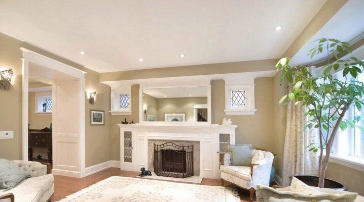 Цвет стен в гостиной: удачные варианты для дома и квартиры