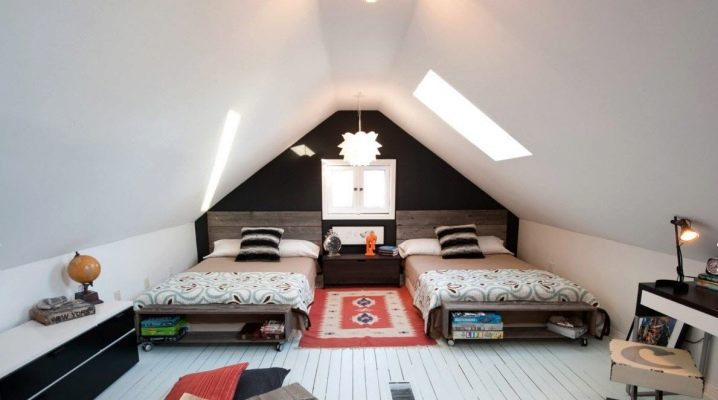 Дизайн мансарды в частном доме: идеи оформления интерьера