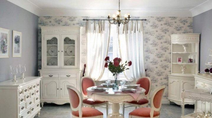 Гостиная в стиле «прованс»: примеры оформления