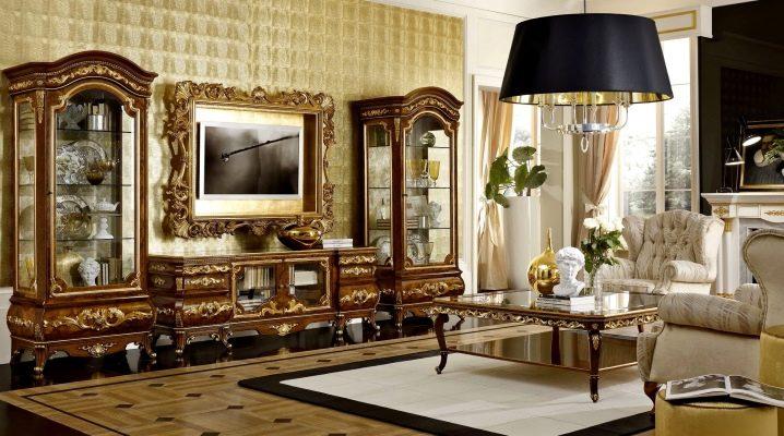 Итальянская мебель для гостиной: элегантность в разных стилях