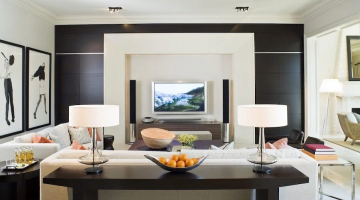 Как расположить телевизор в гостиной?