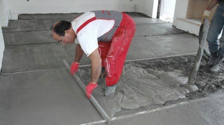 залить стяжку бетоном