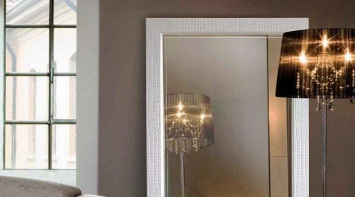 Напольные зеркала: примеры дизайна