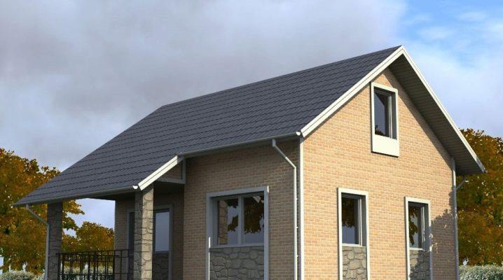 Планировка дома размером 10х8 м с мансардой: идеи дизайна