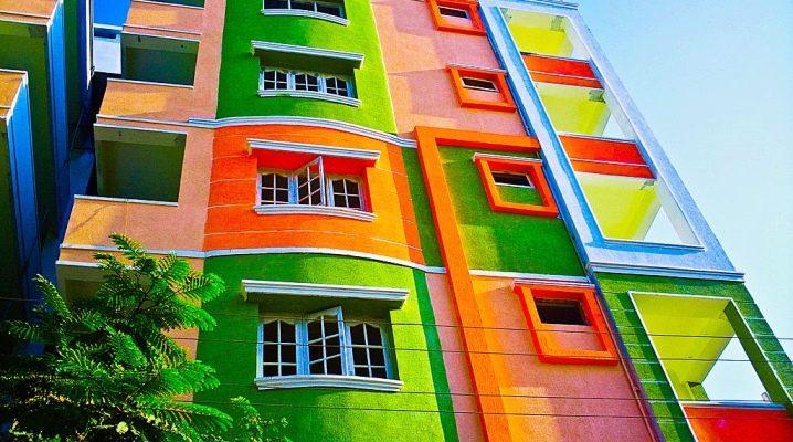 Виды и тонкости выбора фасадной краски