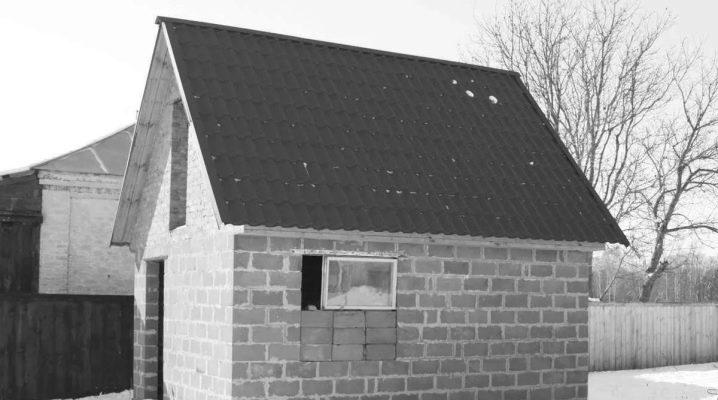 Поэтапное строительство бани из керамзитобетонных блоков