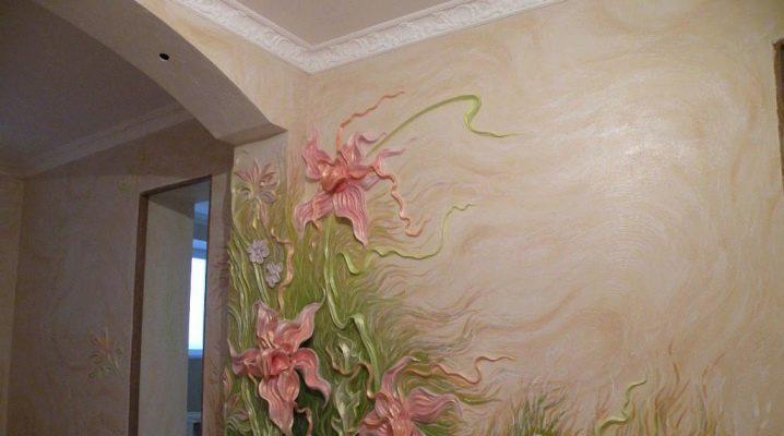 Художественная штукатурка для стен: свойства и особенности применения