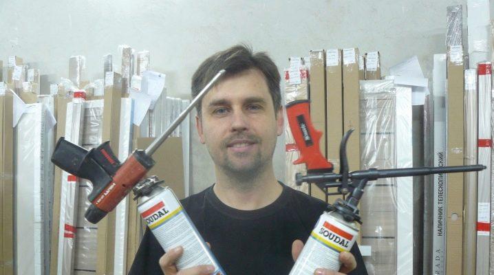 Пистолет для монтажной пены Hilti как применять и как разбирать после использования противопожарной пены