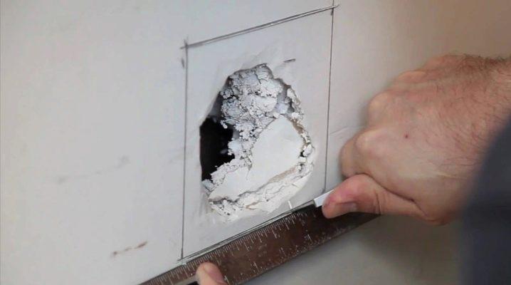 Как зашпаклевать дыры в стене своими руками 55