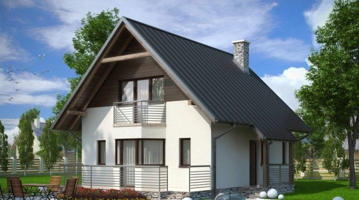 Планировка дома размером 6 на 8 м с мансардой: обыгрываем с пользой каждый метр