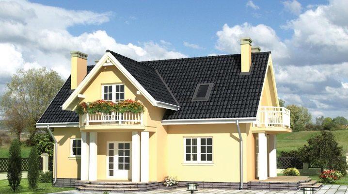 Проекты кирпичных домов с мансардой