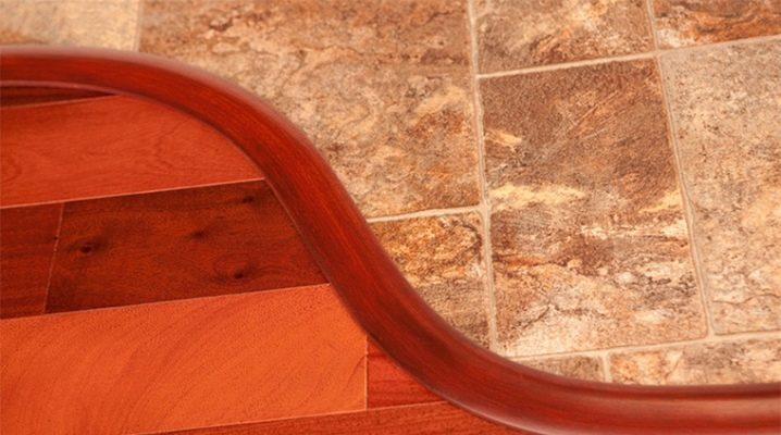 Стык плитки и ламината: варианты и способы оформления