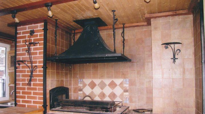 Вытяжка для мангала в беседке с трубой (дымоход), вытяжной зонт своими руками