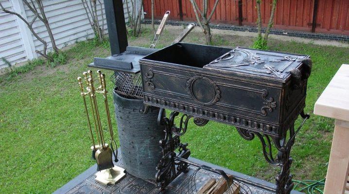 Барбекю и мангал из металла самому как самому сделать из гипсокартона угловой портал для электрокамина