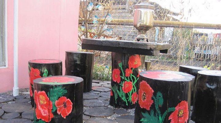 Мебель для дачи своими руками: что можно сделать из подручных материалов?