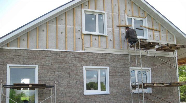 Отделка дома снаружи сайдингом своими руками фото 867