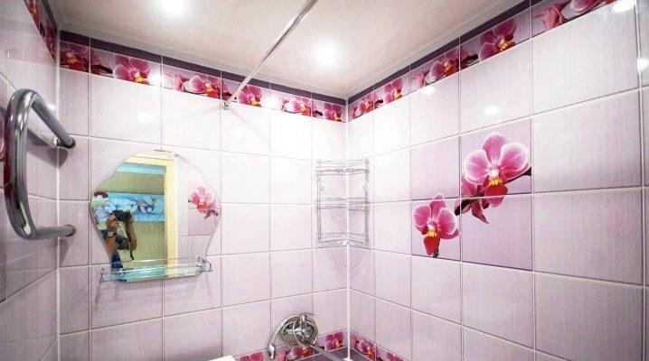 Размеры панелей пвх для стен ванной комнаты