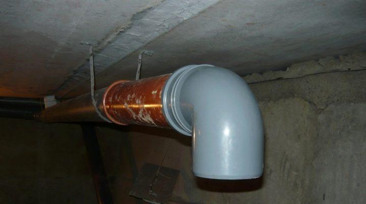 Вытяжка с вентилятором в гараже