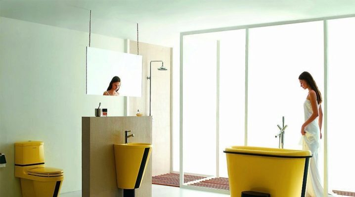 Цветные акриловые ванны: варианты дизайна и советы по выбору