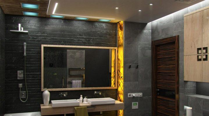 Оригинальные идеи дизайна интерьера санузла в разных стилях