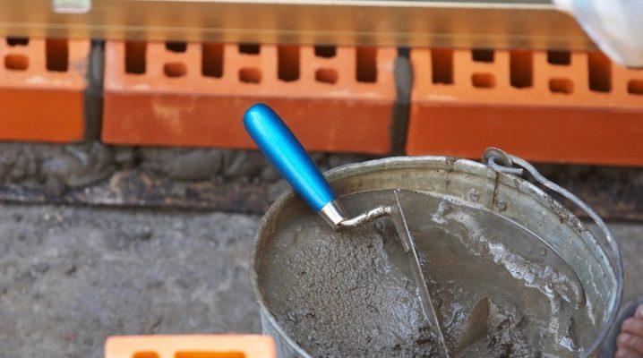 раствор строительный песчано цементный