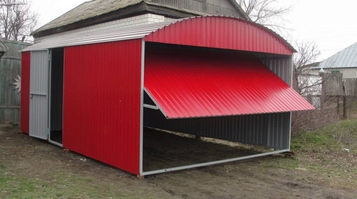 Как построить сарай из профнастила?