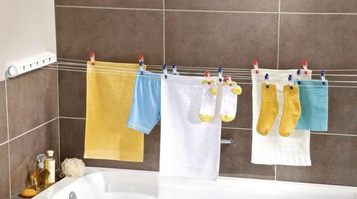 Сушка для белья: подбираем идеальный вариант для ванной комнаты