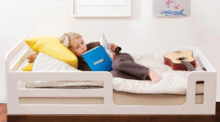 Детские кровати от 2-х лет с бортами