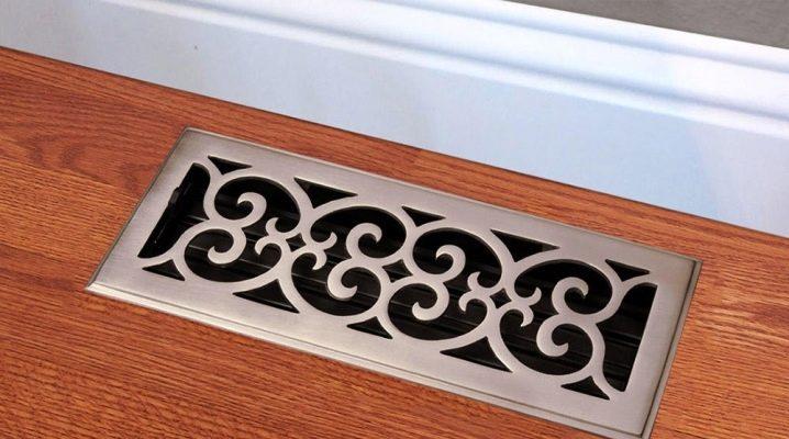 Особенности вентиляционных металлических накладных решеток