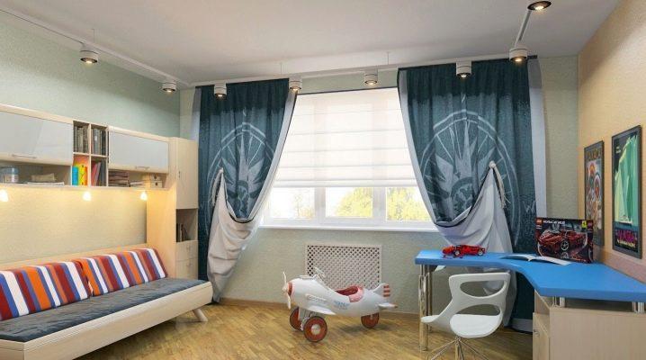 Шторы в комнату для мальчика-подростка: особенности, виды и советы по выбору