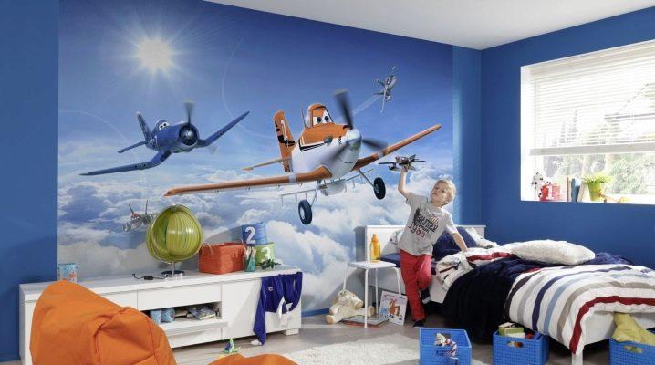 Выбираем фотообои в детскую комнату для мальчиков