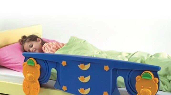Рекомендации по выбору защитных бортиков для детских кроватей