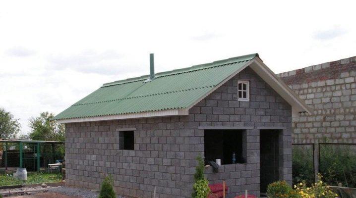 Баня из арболита: плюсы и минусы, основные принципы строительства