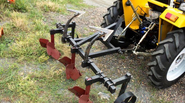 Выбор и использование окучников для мини-трактора