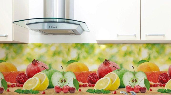 как крепить пластиковый фартук на кухне как приклеить к стене
