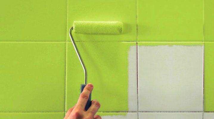 Как обновить старую плитку в ванной и кафель на кухне своими руками: практические способы