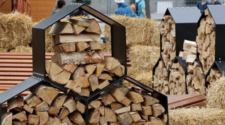 Как сложить дрова в поленницу и в дровницу?