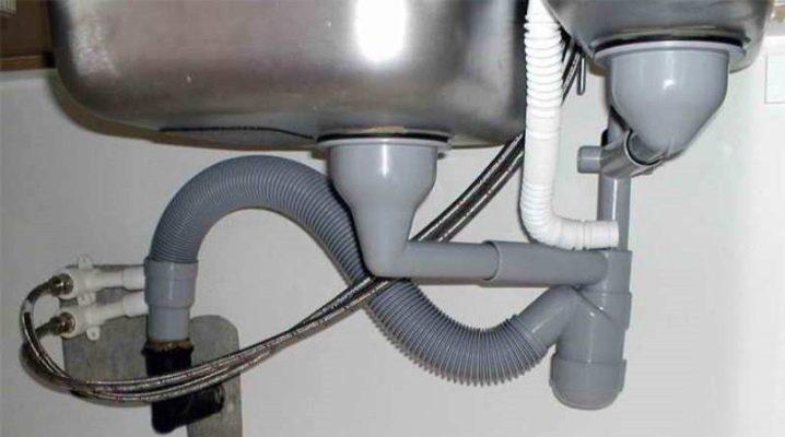 Сифон для мойки с переливом сборка сифона для кухонной раковины Как выбрать для круглой и двойной мойки для кухни