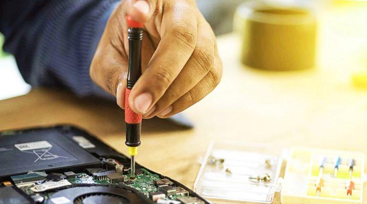 Выбор отвертки для ремонта мобильных телефонов и ноутбуков