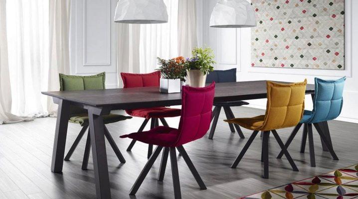 Дизайнерские стулья для кухни: виды и советы по выбору