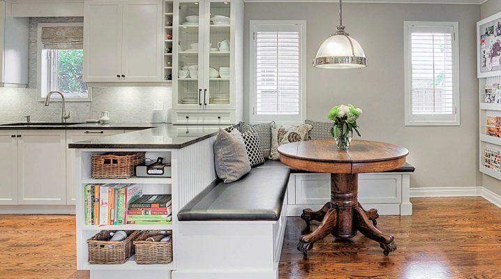 Как выбрать кушетку на кухню?