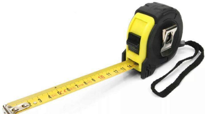 Устройство рулетки измерительной внутри