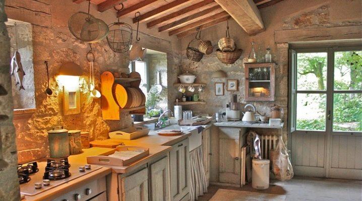 Секреты создания кухни в деревенском стиле